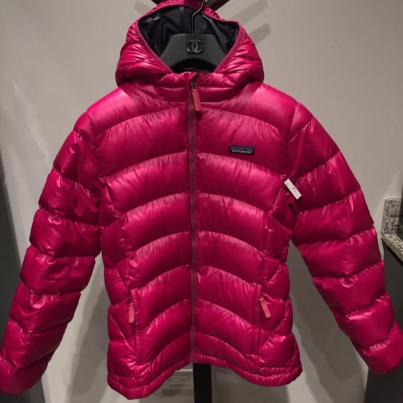 Patagonia Jackets Coats Girls Hiloft Down Sweater Hoody Poshmark